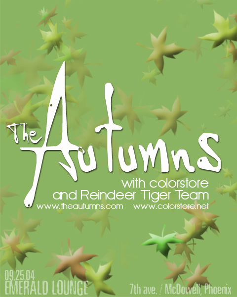 The Autumns - Fake Noise From A Box Of Toys